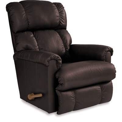Pinnacle Manual Wall Hugger Recliner Upholstery: Espresso