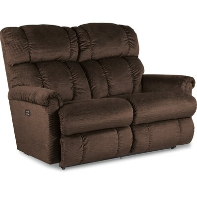 Pinnacle Power Reclining Loveseat Upholstery: Graphite