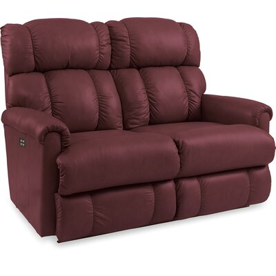 Pinnacle Full Reclining Loveseat Upholstery: Merlot