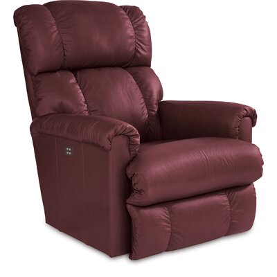 Pinnacle Power XRW Reclina Way Leather Recliner Upholstery: Merlot