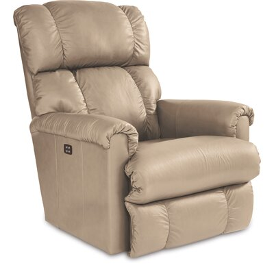 Pinnacle Power XRW Reclina Way Leather Recliner Upholstery: Sand