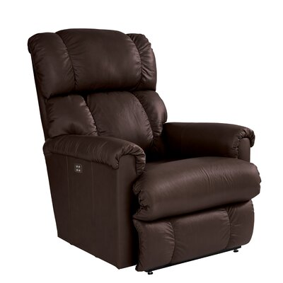 Pinnacle Power XRW Reclina Way Leather Recliner Upholstery: Espresso