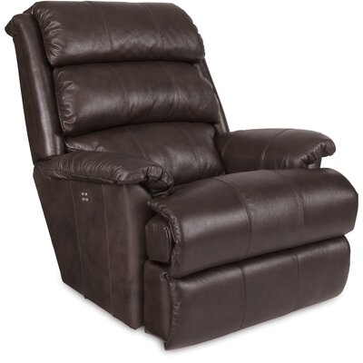 Astor Recliner Upholstery: Chestnut, Reclining Type: Power Recline, Motion Type: Wall Hugger