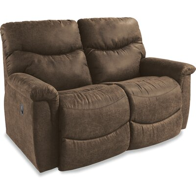 James Reclining Loveseat Upholstery: Silt