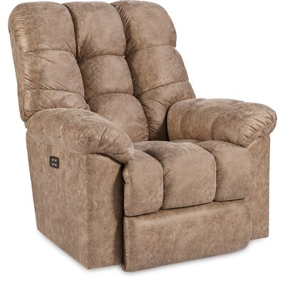 Gibson Manual Rocker Recliner Upholstery: Fawn, Reclining Type: Manual, Motion Type: Wall Hugger