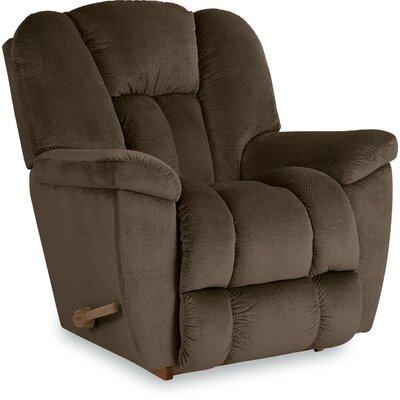 Maverick Reclina-Rocker Recliner Upholstery: Cocoa