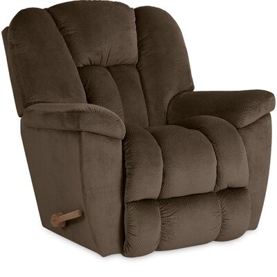 Maverick XR Reclina-Rocker� Recliner Upholstery: Cocoa, Reclining Type: Manual Recline, Motion Type: Rocker