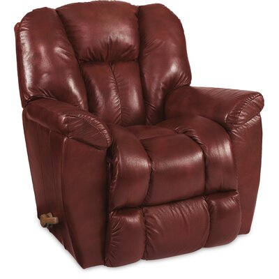 Maverick XR Reclina-Rocker� Recliner Upholstery: Claret, Reclining Type: Manual Recline, Motion Type: Rocker