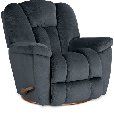 Maverick Recliner Upholstery: Cafe, Reclining Type: Manual, Motion Type: Rocker