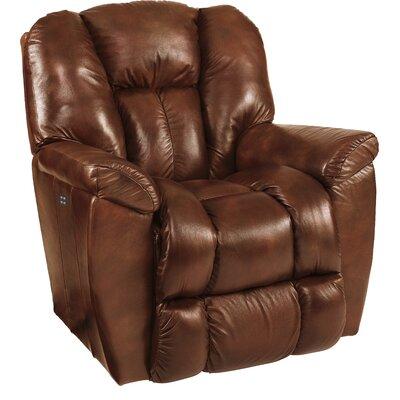 Maverick XR Reclina-Rocker� Recliner Upholstery: Mahogany, Reclining Type: Power Recline, Motion Type: Rocker