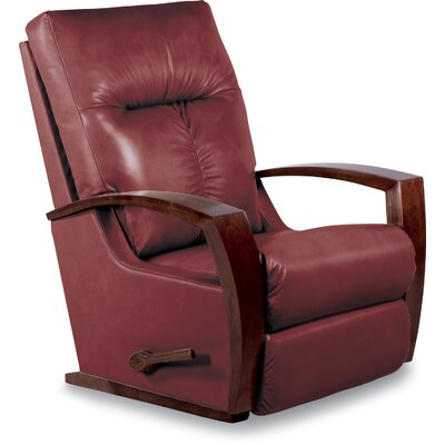 Maxx Manual Rocker Recliner Upholstery: Cherry