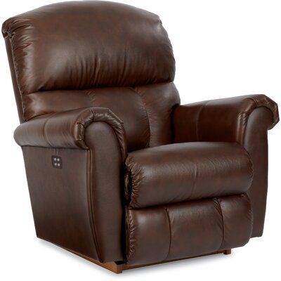 Briggs Recliner Upholstery: Brown, Reclining Type: Power Recline, Motion Type: Rocker
