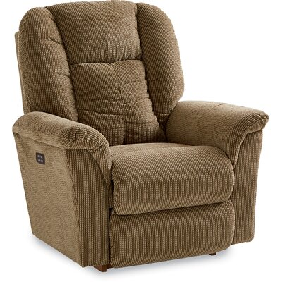 Jasper Recliner Upholstery: Navy, Cushion Fill: Foam, Reclining Type: Power Recline