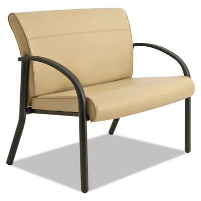 Contract Gratzi Reception Series Bariatric Guest Chair Seat Color: Taupe