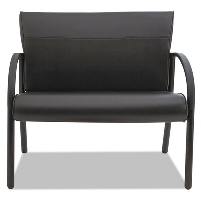 Contract Gratzi Reception Series Bariatric Guest Chair Seat Color: Black