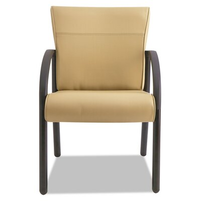 Contract Gratzi Reception Series Guest Chair with Arms Seat Color: Taupe