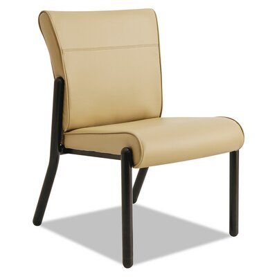 Contract Gratzi Reception Series Armless Guest Chair Seat Color: Taupe