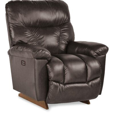 Logan Power Recline XR Reclina-Rocker Leather Recliner