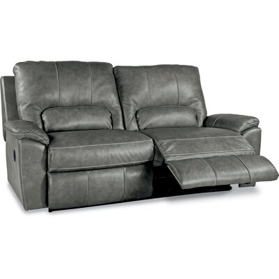Charger La-Z-Time� 2 Seat Full Leather Reclining Sofa