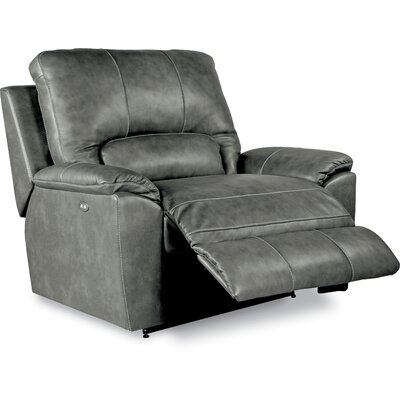 Charger Power La-Z-Time Leather Recliner
