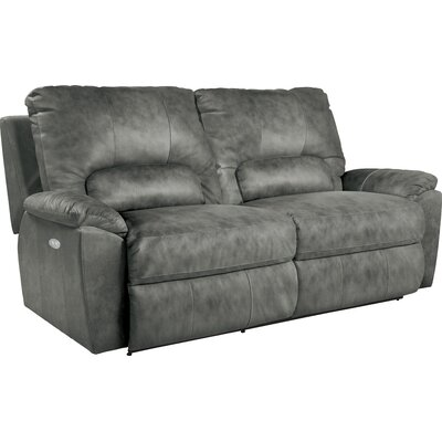 Charger Power La-Z-Time� Leather Reclining Sofa