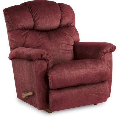 Lancer Recliner Upholstery: Vermillion, Reclining Type: Manual Recline-Handle/Lever, Motion Type: Rocker