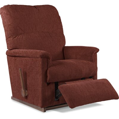 Collage Manual Rocker Recliner Upholstery: Burgundy