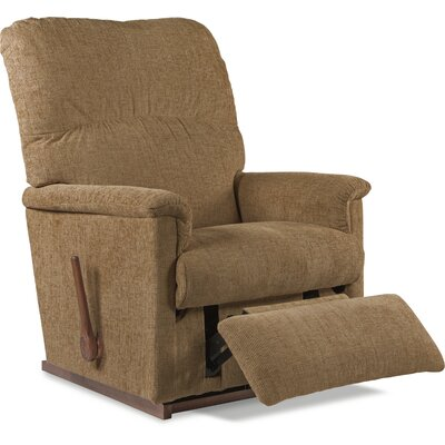 Collage Manual Rocker Recliner Upholstery: Brown Sugar