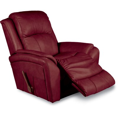 Barrett Rocker Recliner Upholstery: Fire, Reclining Type: Manual