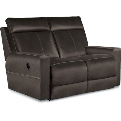 Jax Reclining Loveseat Type: Manual, Upholstery: Sable