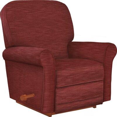 Addison Reclina-Rocker Recliner Upholstery: Ruby