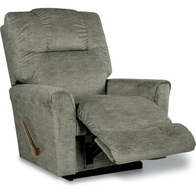 Easton Reclina Rocker Recliner Upholstery: Platinum, Reclining Type: Manual Recline