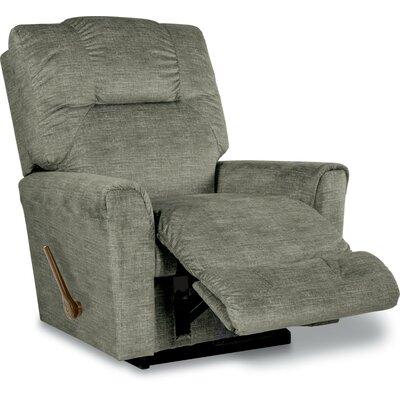 Easton Reclina-Rocker Recliner Upholstery: Platinum