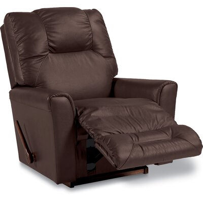 Easton Reclina Rocker Recliner Upholstery: Cola, Reclining Type: Manual Recline