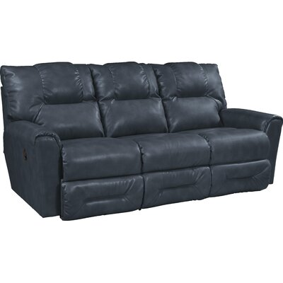 Easton Leather Reclining Sofa Type: Manual