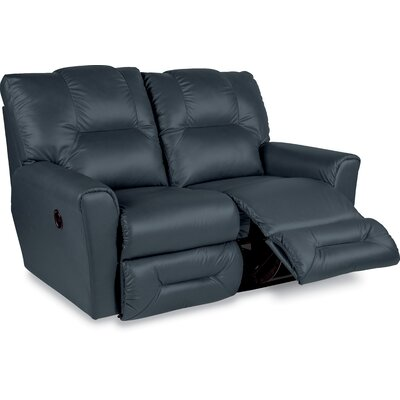 Easton Leather Reclining Loveseat Type: Manual