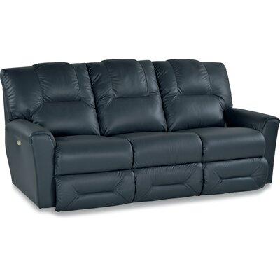 Easton Leather Sofa Type: Power