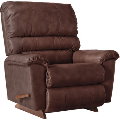 Vince Reclina Rocker Recliner Upholstery: Chestnut, Reclining Type: Manual Recline
