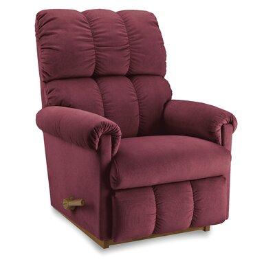 Vail Reclina-Rocker Recliner Upholstery: Burgundy