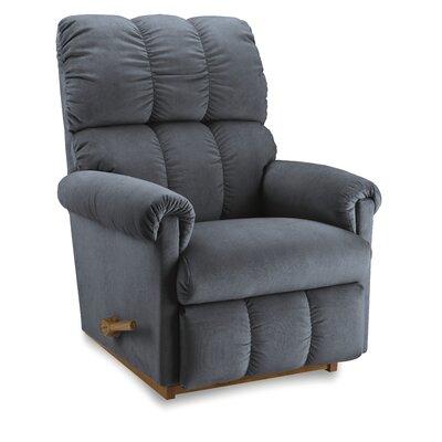 Vail Reclina-Rocker Recliner Upholstery: Indigo