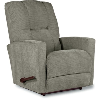 Casey XRW Recliner Upholstery: Aluminum, Reclining Type: Manual, Motion Type: Rocker