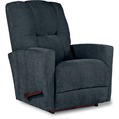 Casey Recliner Upholstery: Navy, Reclining Type: Manual, Motion Type: Rocker