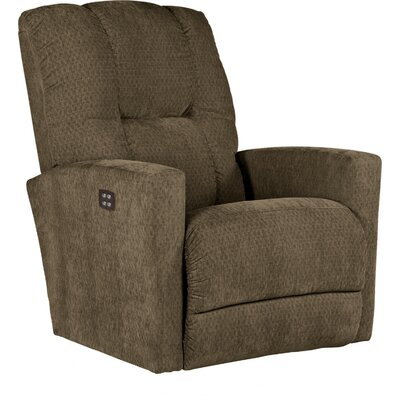 Casey XRW Reclina-Way� Recliner Upholstery: Cocoa, Reclining Type: Power Recline, Motion Type: Wall Hugger