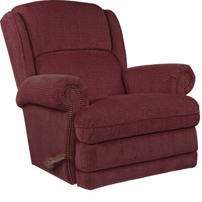 Kirkwood Recliner Upholstery: Cherry, Reclining Type: Manual, Motion Type: Rocker