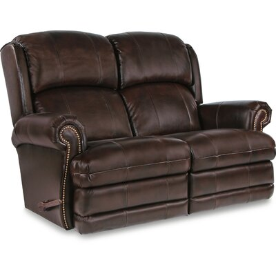 Kirkwood Reclina-Way� Full Leather Reclining Loveseat