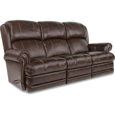 Kirkwood Reclina-Way� Full Leather Reclining Sofa