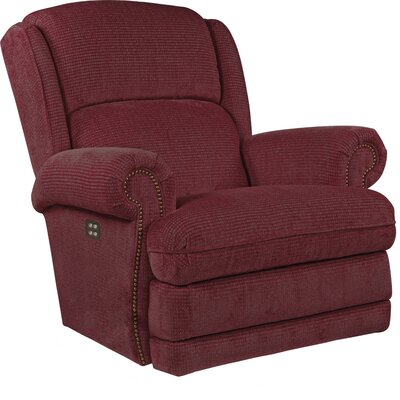 Kirkwood XRW Reclina-Way� Recliner Upholstery: Cherry, Reclining Type: Power Recline, Motion Type: Wall Hugger