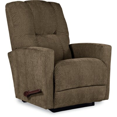 Casey Recliner Upholstery: Cocoa, Reclining Type: Manual, Motion Type: Rocker