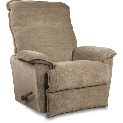 Jay Reclina-Way� Manual Recliner Color: Black, Upholstery: Brown, Motion Type: Wall Hugger