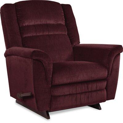 Sequoia Manual Recliner Upholstery: Vino, Motion Type: Rocker